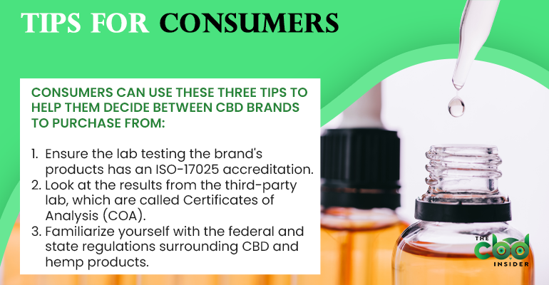tips for consumers